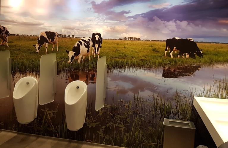 Fotobehang Henri Willi Kaasboerderij