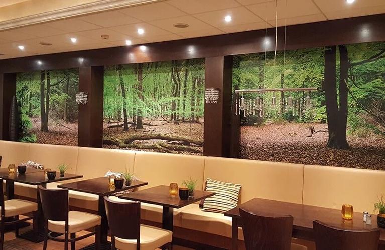 Fotobehang Restaurant Golden Tulip Alkmaar